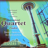 Sweet Adelines : Top Quartets 2010 : 00  1 CD : RC1025