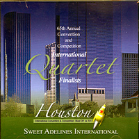 Sweet Adelines : Top Quartets 2011 : 00  1 CD : RC1027