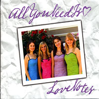 Love Notes : All You Need is Love : SSAA : 00  1 CD
