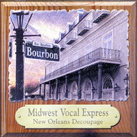 Midwest Vocal Express : New Orleans Decoupage : 00  1 CD