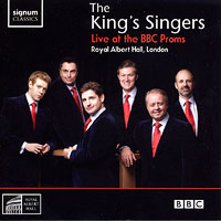King's Singers : Live at the BBC Proms : 00  1 CD :  : SIGCD150