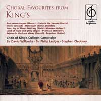 Choir of King's College, Cambridge : Choral Favorites From King's : 00  1 CD : EMC75943.2