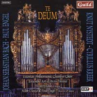 Estonian Philharmonic Chamber Choir : Te Deum : 00  1 CD : Paul Engel :  : 7245