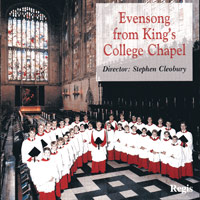 Choir of King's College, Cambridge : Evensong and Vespers from King's College Cambridge : 00  1 CD : Stephen Cleobury :  : RRC 1039