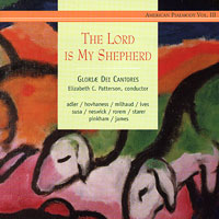 Gloriae Dei Cantores : The Lord Is My Shepherd : 00  1 CD : Elizabeth Patterson :  : 30