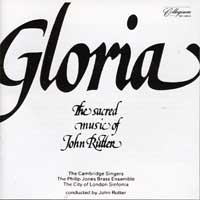 Cambridge Singers : Gloria : 00  1 CD : John Rutter : 515