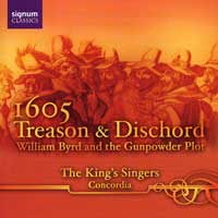 King's Singers : Treason & Discord : 00  1 CD :  : 061