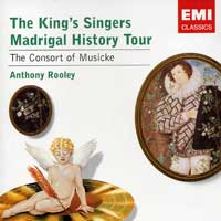 King's Singers : Madrigal History Tour : 00  1 CD :  : EMC85714.2