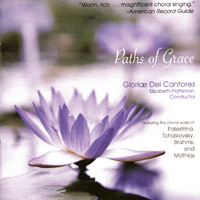 Gloriae Dei Cantores : Paths of Grace : 00  1 CD : Elizabeth Patterson :  : 116