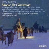 Polyphony : John Rutter - Music For Christmas : 00  1 CD : Stephen Layton : CDA67245