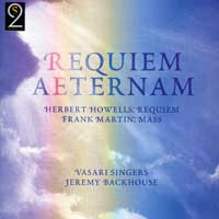 Vasari Singers : Requiem Aeternam : 00  1 CD : Jeremy Backhouse :  : 503