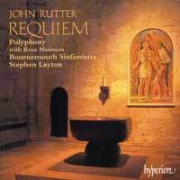 Polyphony : John Rutter - Requiem and other Sacred Music : 00  1 CD : Stephen Layton : John Rutter : 66947