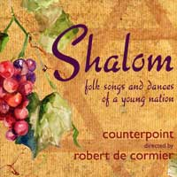 Counterpoint : Folk Songs and Dances of a Young Nation : 00  1 CD : Robert De Cormier :  : 823