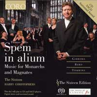 Sixteen : Thomas Tallis : Spem in alium : 00  1 CD : Harry Christophers : Thomas Tallis : 16016