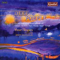 Vasari Singers : Deep Purple - Close Harmony Arrangements : 00  1 CD : Jeremy Backhouse :  : 7267
