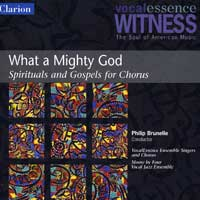 VocalEssence : What A Mighty God : 00  1 CD : Philip Brunelle :  : 904