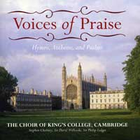 Choir of King's College, Cambridge : Voices of Praise : 00  2 CDs : Stephen Cleobury / Sir David Willcocks / Sir Philip Ledger :  : EMC58088B.2