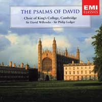 Choir of King's College, Cambridge : The Psalms of David : 00  2 CDs : David Willcocks :  : EMC85641.2