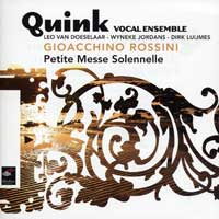 Quink Vocal Ensemble : Gioacchino Rossini : 00  2 CDs : Gioachino Rossini : 72157