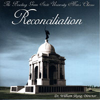 Bowling Green State University Men's Chorus : Reconciliation  : 00  1 CD : William Skoog :