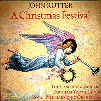 Cambridge Singers  : A Christmas Festival : 00  1 CD : John Rutter : 133
