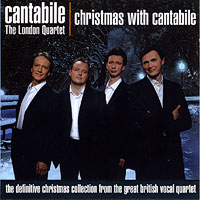 Cantabile - The London Quartet : Christmas with Cantabile : 00  1 CD :