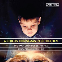 Bach Choir of Bethlehem : A Child's Christmas in Bethlehem : 00  1 CD : 29886