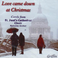 "St. Paul's Cathedral Choir : <span style=""color:red;"">Love Came Down at Christmas</span> : 00  1 CD : 4051"