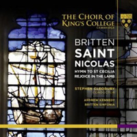 Choir of King's College, Cambridge : Britten - Saint Nicolas : 00 2 SACDs : Benjamin Britten : KGS 0003