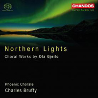 Phoenix Chorale : Northern Lights - Choral Works of Ola Gjeilo : 00 SACD : Charles Bruffy : Ola Gjeilo : CHN5100.2