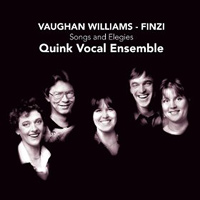 Quink Vocal Ensemble : Songs and Elegies : 00  1 CD : CHR 72501