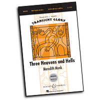 Meredith Monk : Three Heavens and Hells : SSAA : 01 Songbook : 884088549534 : 1458403203 : 48020990