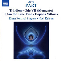 Elora Festival Singers : Arvo Part - Music for Unaccompanied Choir : 00  1 CD : Noel Edison : Arvo Part : 8.570239