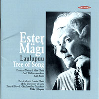 Estonian National Male Choir : Esther Magii - Tree of Song : 00  1 CD : Esther Magii : ncd 25