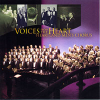 Heartland Men's Chorus : Voices From The Heart : 00  1 CD : Joseph P. Nadeau :