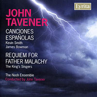 King's Singers : Tavener - Requiem for Father Malachy / Canciones Espanolas : 00  1 CD : John Tavener : LYR 311