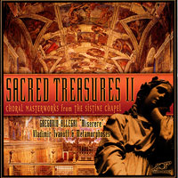 Various Artists : Sacred Treasures II - Choral Masterworks from The Sistine Chapel : 00  1 CD :  : 11112