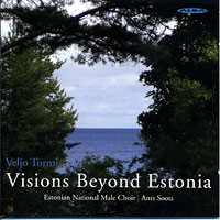 Estonian National Male Choir : Visions Beyond Estonia : 00  1 CD : Ants Soots : Veljo Tormis : ncd 31