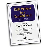 Charlotte Adams : Daily Workout For A Beautiful Voice : DVD :  : 964807005838 : SBMP583
