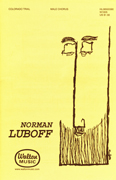 The Colorado Trail : TTBB : Norman Luboff : Traditional : The Norman Luboff Choir : Sheet Music : W1005 : 073999689952