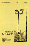 Poor Lonesome Cowboy : TTBB : Norman Luboff : Traditional : The Norman Luboff Choir : Sheet Music : W1007 : 073999586046