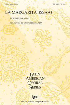 La Margarita : SSAA : 0 : Sheet Music : 6365 : 8402703943