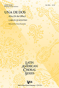 Una de Dos : SATB : 0 : Sheet Music : 8916 : 8402700071