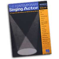 Various Arrangers : The Contemporary Singing Actor - Women's Edition Vol. 2 : Solo : Songbook : 073999217025 : 0634047671 : 00740193