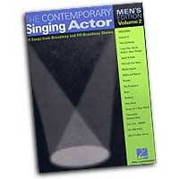 Various Arrangers : The Contemporary Singing Actor - Men's Edition Vol. 2 : Solo : Songbook : 073999811254 : 0634047698 : 00740195