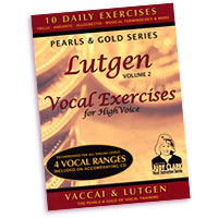 Judy Clark : Lutgen Vocal Exercise Vol 2 - High Voice : Solo : 01 Book Warm Up & 1 CD :  : LHV-V2