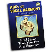Elisabeth Howard : ABCs of Vocal Harmony :  01 Book & 4 CDs :  : 23811