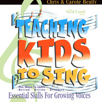 Chris and Carole Beatty : Teaching Kids to Sing - Essential Skills for Growing Voices (CD) : 00  1 CD :  : VOCH-CD-012