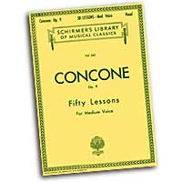 Giuseppe Concone : Fifty Lessons - Medium Voice : Solo : Vocal Warm Up Exercises :  : 073999537208 : 079355344X : 50253720