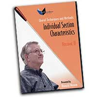 Donald Neuen : Individual Section Characteristics : DVD : Donald Neuen :  : 824890-1105-9